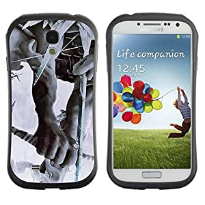 LASTONE PHONE CASE / Suave Silicona Caso Carcasa de Caucho Funda para Samsung Galaxy S4 I9500 / linkin park the hunting party