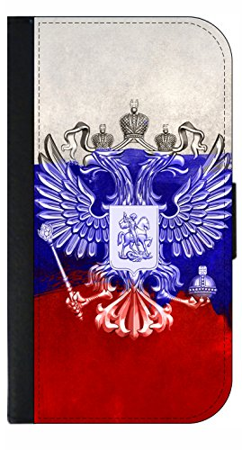Russian Flag - Apple iPhone 4/4s/5/5s/5c/6/6s/6+/6s+/7/7+/8/8+ Wallet Style Phone Case - Select Your Compatible Phone Model
