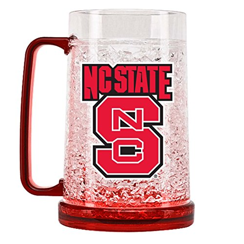 - NCAA North Carolina State Wolfpack 16oz Crystal Freezer Mug