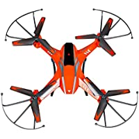 Owill YD- A8 4CH 6-Axis Gyro 2.0MP HD Camera RC Quadcopter 360 Flips Aircraft Drone/Great Gift For Your Friends (Orange)
