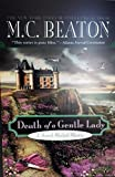 Death Of A Gentle Lady - Large Print Edition
