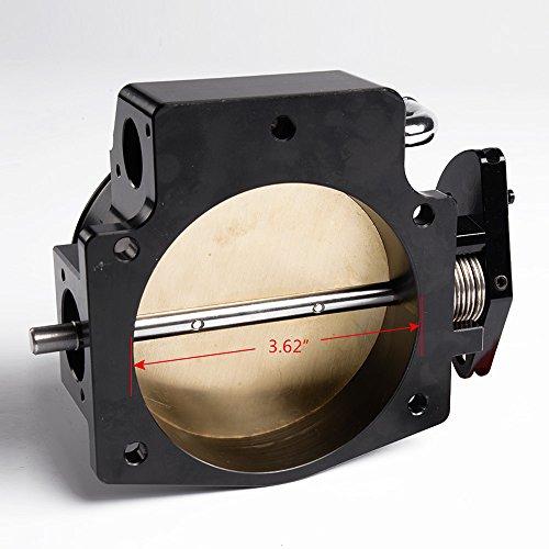 92MM THROTTLE BODY GM GEN III LS1 LS2 LS6 LS3 LS LS7 SX LS 4 CNC BOLT CABLE 92mm