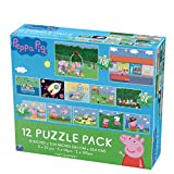 Peppa Pig 12 Puzzle Pack (24 Pieces)