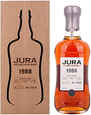 Jura RARE VINTAGE Single Malt Scotch Whisky 1988 53,5% - 700 ml in Giftbox