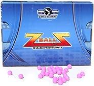 Gen-X Global GXG Paintball 0.50 Caliber Foam Reusable Balls, Bag of 500, Pink