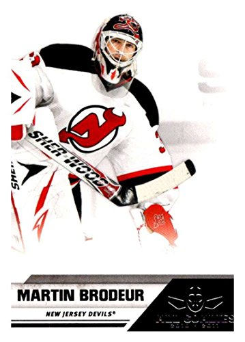 Hockey NHL 2010-11 Panini All-Goalies #50 Martin Brodeur NJ Devils