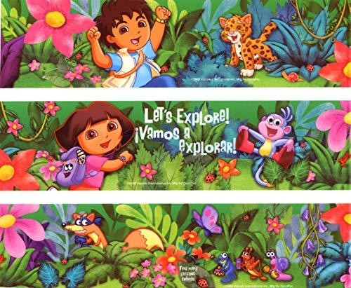 Dora The Explorer Go Diego Go Edible Cake Topper Image Strips ABPID05617 -