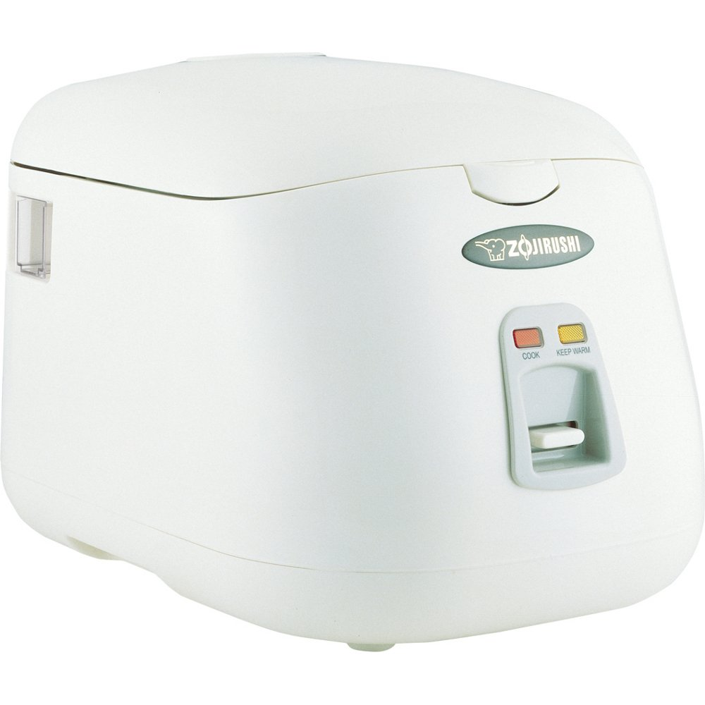 Zojirushi NS-PC18 Electric 10-Cup (Uncooked) Rice Cooker and Warmer, 1.8-Liters