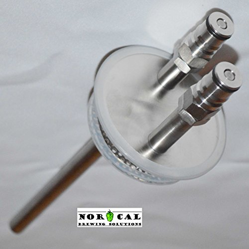 Jaybird CANNING JAR HOP RANDALL - Ball Lock Connections - Jar not included