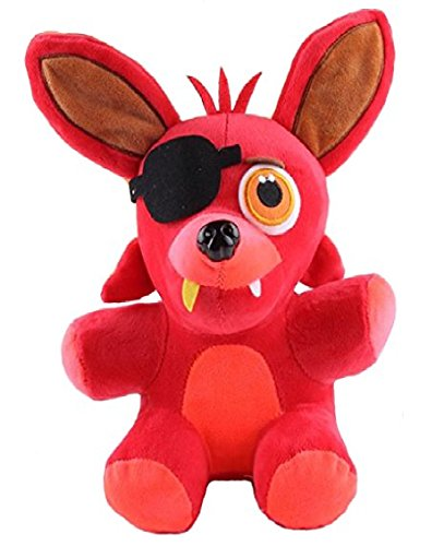 Amazing Toys store Five Nights At Freddy's 4 FNAF FOXY Plush Toy size:25 cm