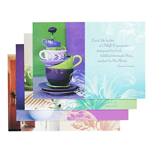 Boxed Tea (Birthday - Inspirational Boxed Cards - Tea Cups)