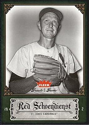 Louis Cardinals Baseball Card 1962 Topps #575 Red Schoendienst St