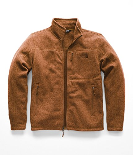 The North Face Men's Gordon Lyons Full Zip Gingerbread Brown Heather Medium