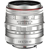 Pentax HD DA 20-40mm f/2.8-4 ED Limited DC WR Zoom Lens (Silver)