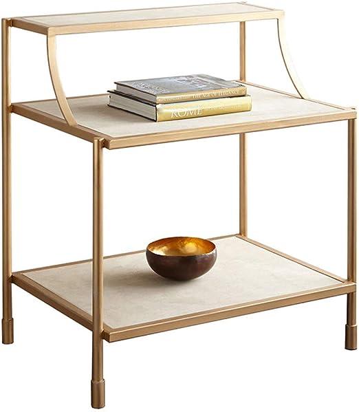 mesas de Centro Modernas Sofá pequeño de Dos Pisos Moderno Mesa ...