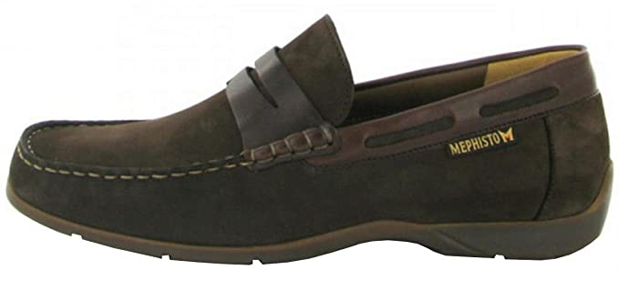 1c0a3d6e0e Image Unavailable. Image not available for. Colour: Mephisto Men's Loafer  EDLIN Dark Brown ...