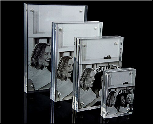 Original Magnet Acrylic Photo Frame Picture Frame (2'' x 3'')