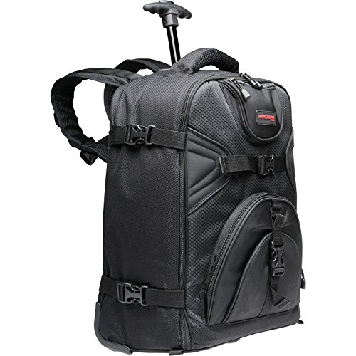 Precision Design PD-BPT DSLR Camera Backpack with Wheels by Precision Design