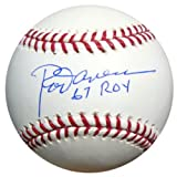 "Rod Carew Autographed Official MLB Baseball Minnesota Twins ""67 ROY"" PSA/DNA Stock #9881"