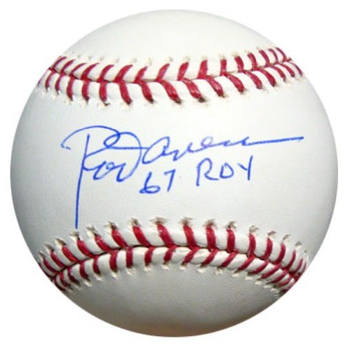 Rod Carew Autographed Official MLB Baseball Minnesota Twins