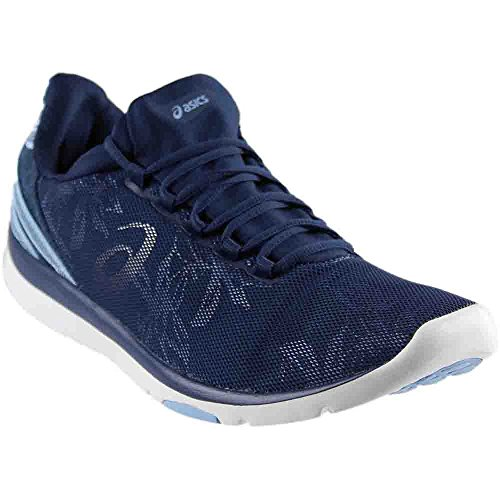 ASICS Women's Gel-Fit Sana 3 Cross Trainer, Insignia Blue/Silver/Airy Blue, 8.5 Medium US
