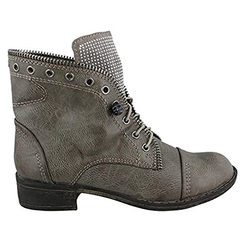 Report Women's Nyles Grey Boot 7 M