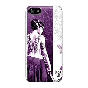 Williamore SsjcRKM3122ZJqNC Case For Iphone 5/5s With Nice Psylocke Samurai Appearance