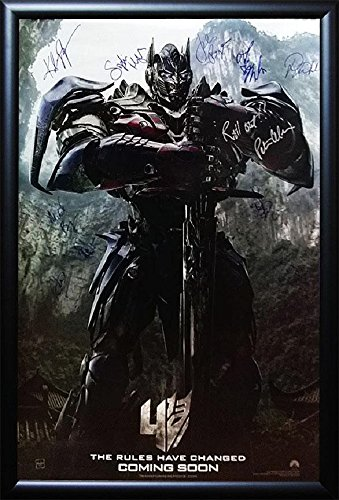 Transformers: Age of Extinction - Signed Movie Poster