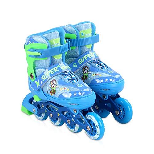 Zeroall Inline Skate Roller Blades for Kids Adjustable Light...