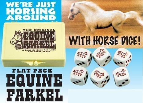 Farkel Flat Flat Flat Pack Equine Horse Dice by Legendary Games ce1e86