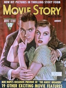 Goddard, Paulette Poster Story Magazine Cover 1940's 27x40 Paulette Goddard