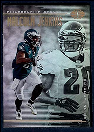 Amazon.com  2018 Panini Illusions Football  99 Brian Dawkins Malcolm  Jenkins Philadelphia Eagles Official NFL Trading Card  Collectibles   Fine  Art 48e2b1573