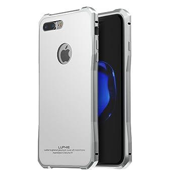 luphie metal marco Glass Ultra Slim de smartphone móvil Back Cover ...
