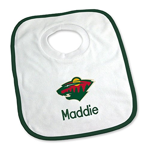 Designs by Chad and Jake Baby Personalized Minnesota Wild Small Gift Basket One Size White