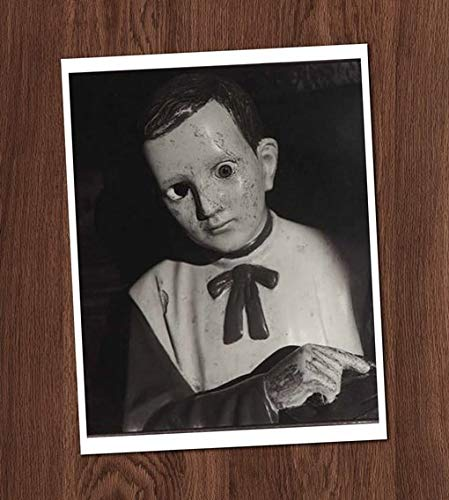 Ventriloquist Doll Creepy Dummy Vintage Photo Art Print 8x10 Wall Art Halloween ()