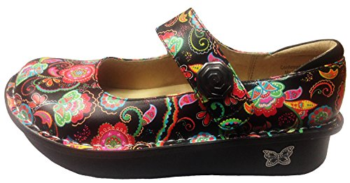 Alegria Women's Paloma Exclusive Professional Shoe (38 M EU/8-8.5 B(M) US, Paisley Party)