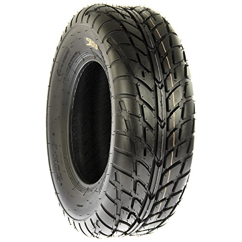 Pair of 2 SunF A021 TT Sport ATV UTV Dirt & Flat Track Tires 22x7-10, 6 PR, Tubeless by SunF (Image #5)