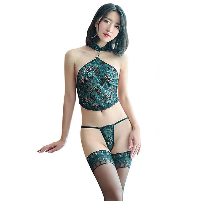 Amazon.com: Ropa interior erótica para mujer Peacock Element ...