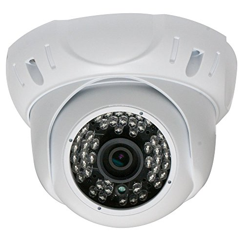 GW Security 5 Megapixel 2592 x 1920 Pixel Super HD 1920P Weatherproof Onvif Night Vision 1080P Security Dome H.265 PoE IP Camera with Wide Angle Len