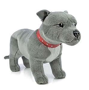 Amazon Com Bocchetta Plush Toys Staffordshire Terrier Standing