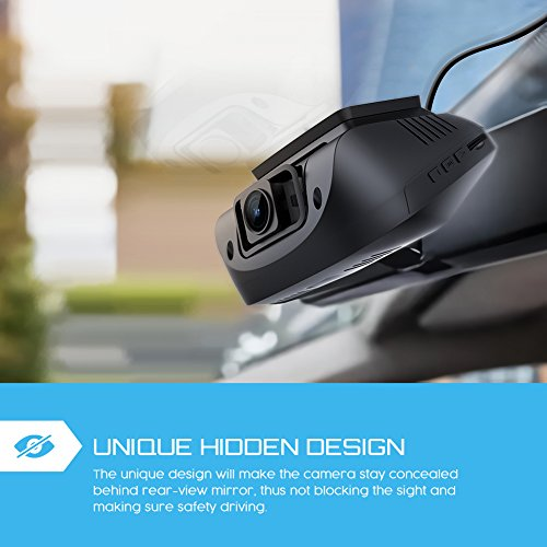 Both 1080P FHD Front and Rear Dual Lens Dash Cam in Car Camera Recorder Crosstour External GPS HDR Both 170194176Wide Angle Motion Detection GSensor Loop RecordingCR900