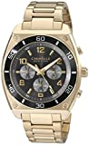 Caravelle New York Men's 45A111 Analog Display Japanese Quartz Gold Watch