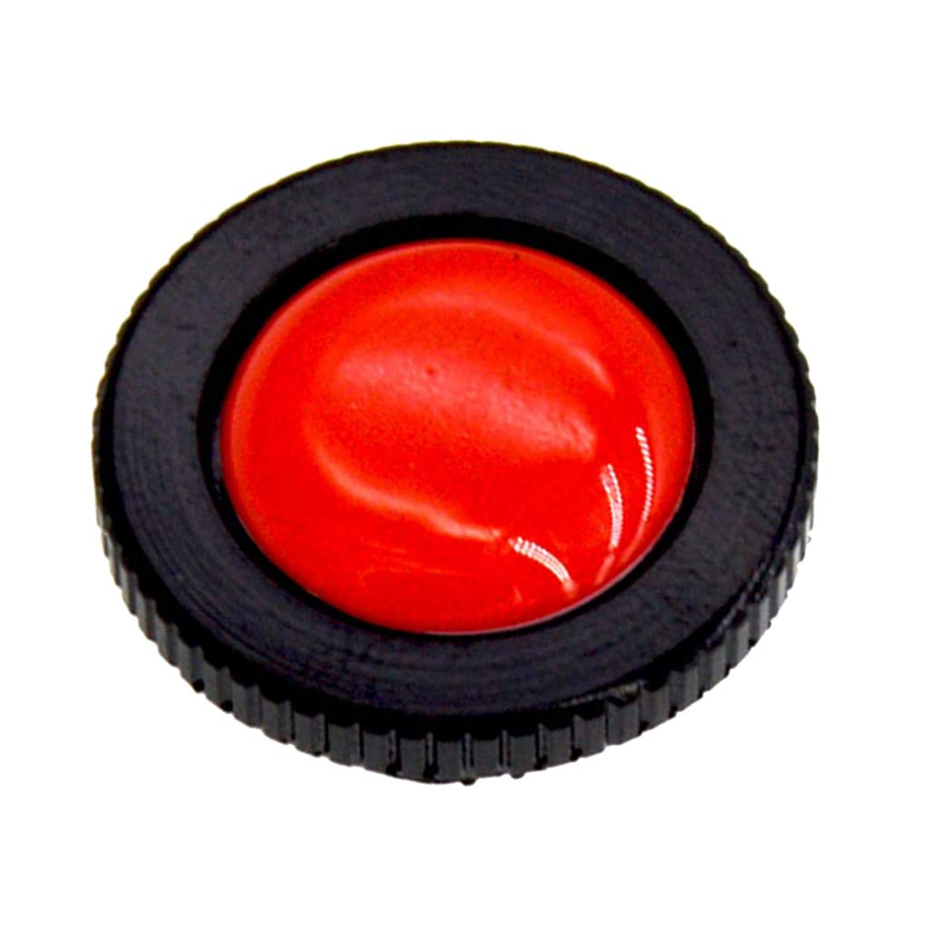 Red Prettyia 1 Piece Round Quick Release Plate Manfrotto Compact Action Tripods