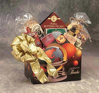 A World Of Thanks Gift Basket – Large