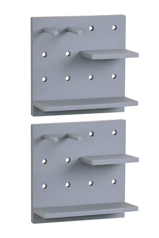 Amazon.com: Letjolt New Pegboard for Living Room Wall Decor Ideas ...