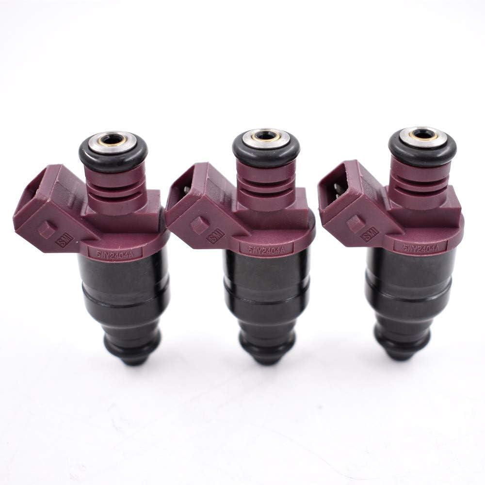 3 Pcs New Fuel Injectors For John Deere 825i Gator 3 Cylinder MIA11720 5WY2404A