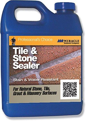Miracle Sealants TSS QT SG Tile/Stone and Grout Economical Sealer, 1 quart Bottle