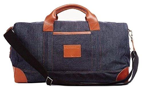 Denim Duffle Bag - 8