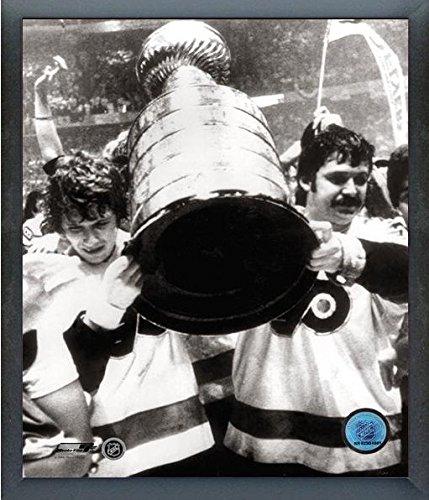 """Bobby Clarke & Bernie Parent Philadelphia Flyers Stanley Cup Photo (Size: 12"""" x 15"""") Framed"""