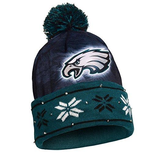 Hats Gear Apparel - NFL Philadelphia Eagles Light Up Knit Hat